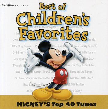 CHILDREN'S RECORDINGS - BEST OF CHILDREN'S FAVOURITES - MICKEY'S - CD New