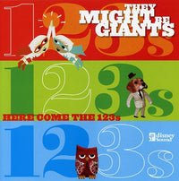 THEY MIGHT BE GIANTS - HERE COME THE 123'S - CD New