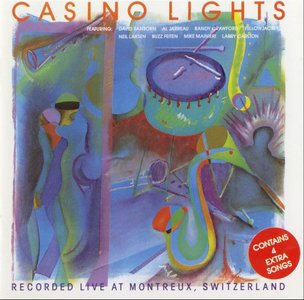 CASINO LIGHTS - RECORDED LIVE AT MONTREUX SWITZERLAND - CD Used