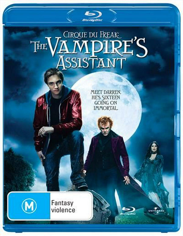 JOHN C. REILLY - CIRQUE DU FREAK - VAMPIRE'S ASSISTANT, THE - Video Used BluRay