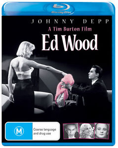 JOHNNY DEPP - ED WOOD - Video Used BluRay
