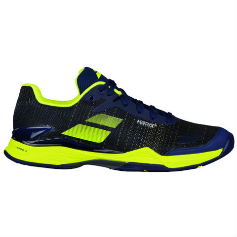 Babolat Jet Mach II Mens Tennis Shoe (Blue/Yellow)