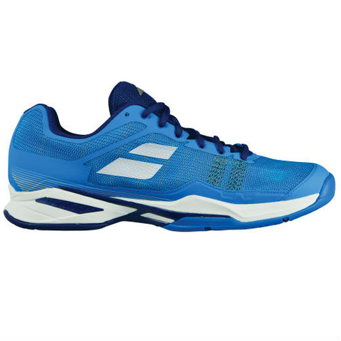 Babolat Jet Mach I Mens Tennis Shoe (Blue/White)