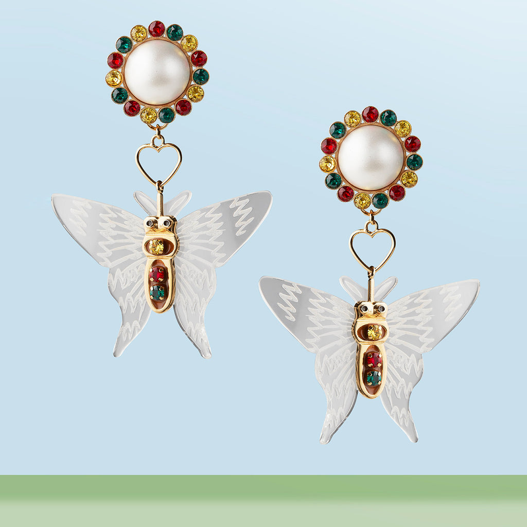 HAPPY BUTTERFLY EARRINGS