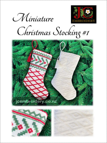 Mini Christmas Stocking #1