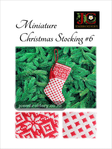 Mini Christmas Stocking #6