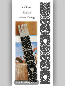Amo Bookmark – Pattern Darning Kit