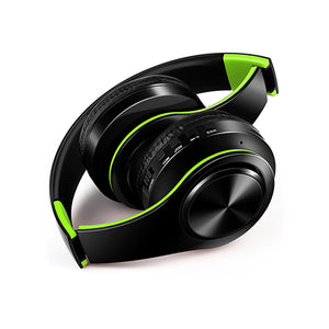 free shipping wireless Bluetooth headphone stereo headset music headset support SD card with mic for mobile ipad