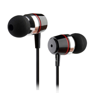 Inpher-B2 3.5mm Earphone Metal headset In-Ear Earbuds For Mobile computers MP3 MP4 for phone earphones