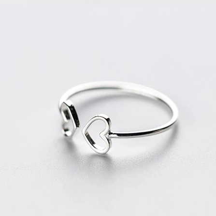 The Double Heart Ring
