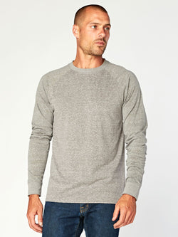 Triblend Colorblock Long Sleeve Crew