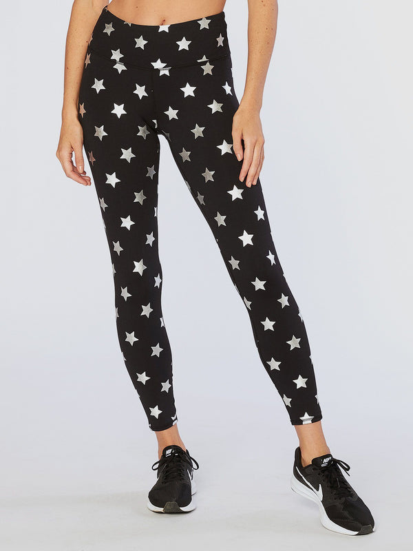 Monica Silver Star Legging