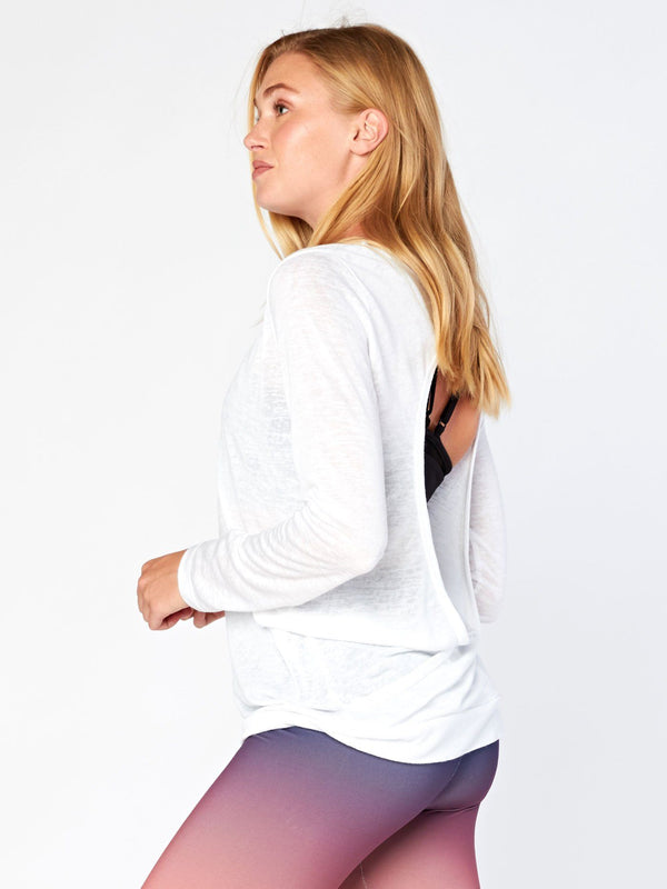 Mae Open-Back Top