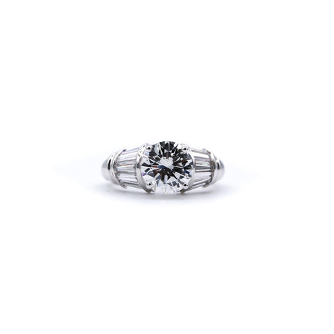 Classic 2 Taper Engagement Ring