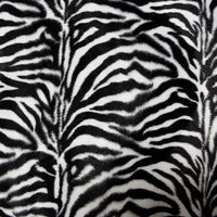 SWATCHES Velboa Zebra Prints