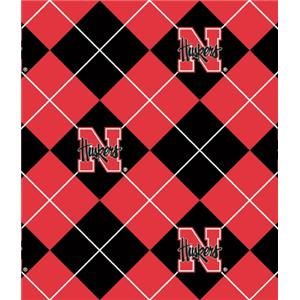 Anti-Pill Nebraska Argyle Fleece B636