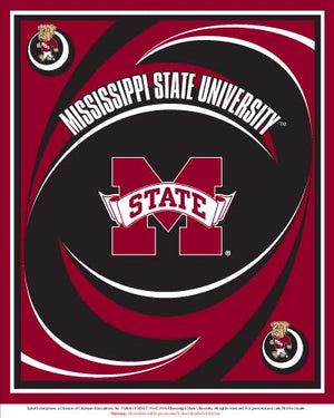 Premium Anti-Pill Mississippi State Panel Fleece B656