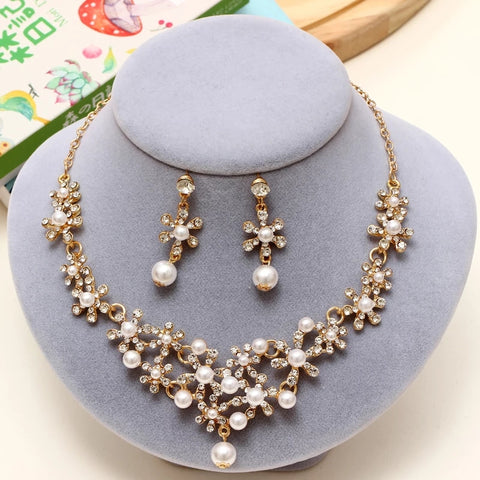 Free Pearl Necklace Set with Earrings...Just Pay shipping