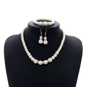 FREE Beautiful Pearl Necklace set