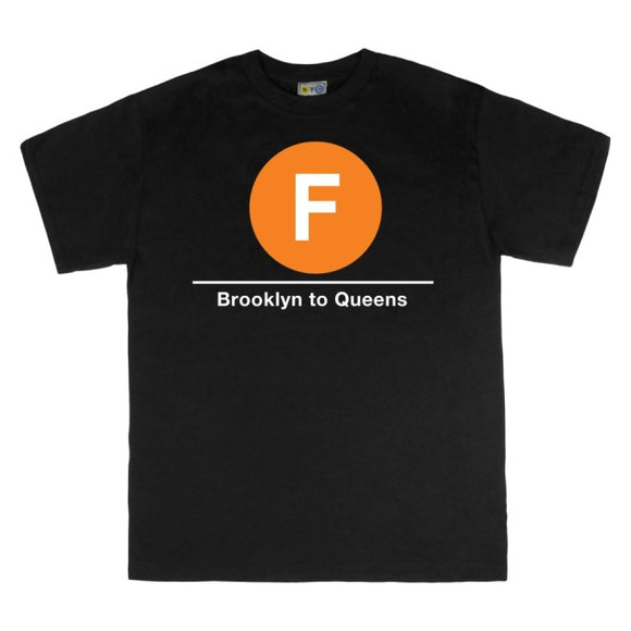 F (Brooklyn to Queens) T-Shirt