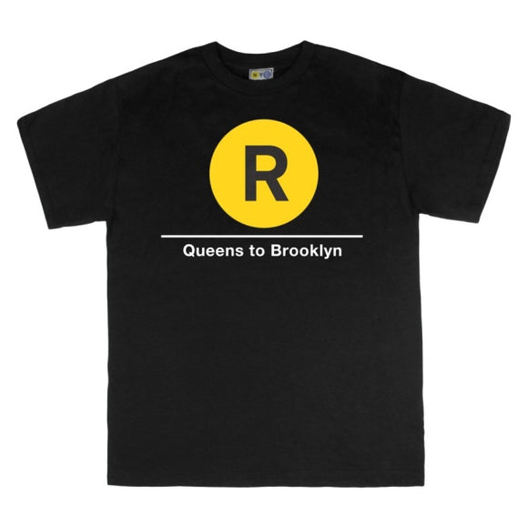 R (Queens to Brooklyn) T-Shirt