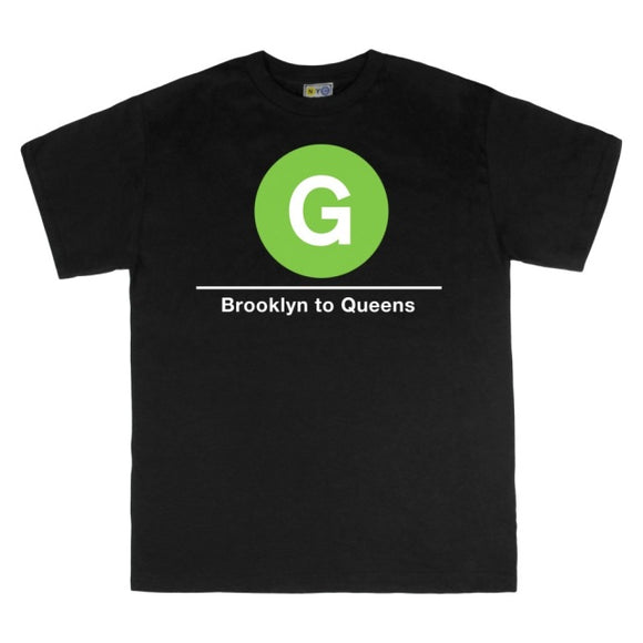 G (Brooklyn to Queens) T-Shirt