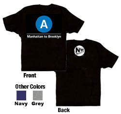 A (Manhattan to Brooklyn) Youth T-Shirt