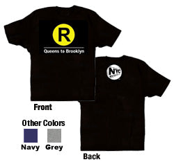 R (Queens to Brooklyn) Youth T-Shirt