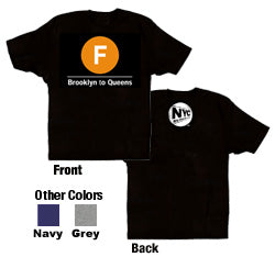 F (Brooklyn to Queens) Toddler T-Shirt