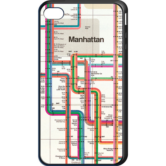 Vignelli Map 1972 (Detail) Cell Phone Case