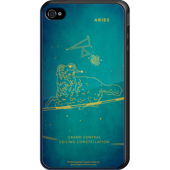 Grand Central Ceiling (Aries) Cell Phone Case