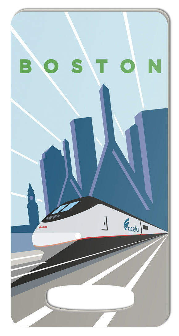 Acela (Boston) Luggage Tag