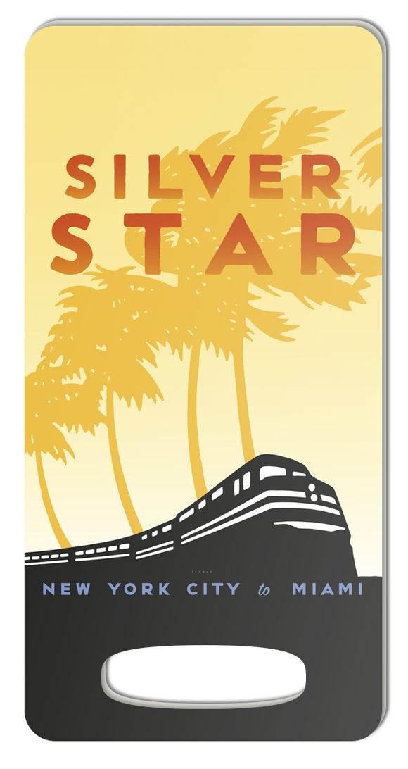 Silver Star (NYC to Miami) Luggage Tag