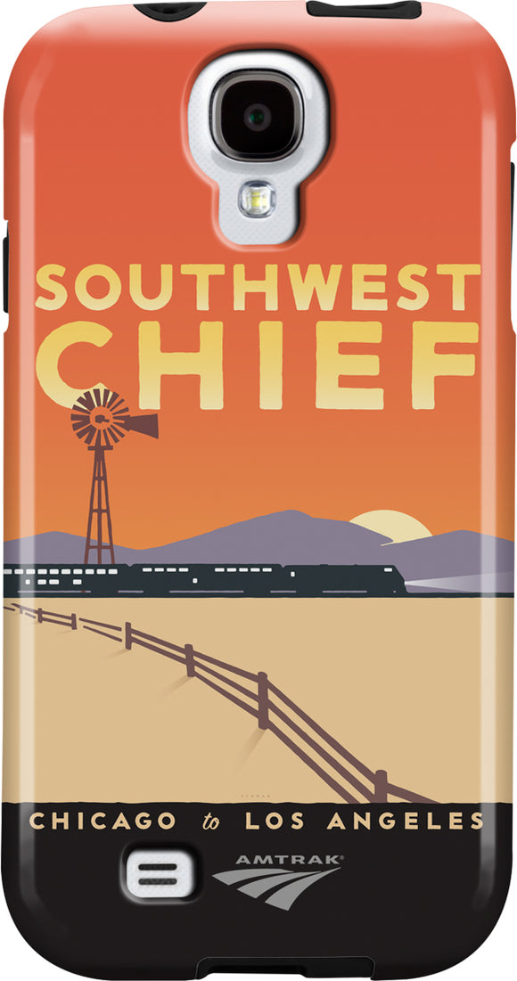 Southwest Chief (Chicago to LA) Galaxy Case