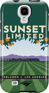 Sunset Limited (Orlando to Los Angeles) Galaxy Case