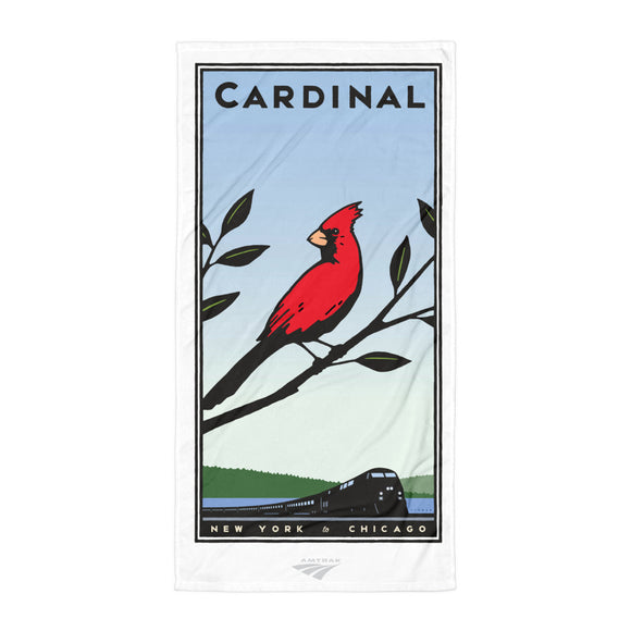 Cardinal (NYC to Chicago) Towel