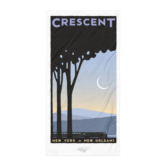 Crescent (NYC to New Orleans) Towel