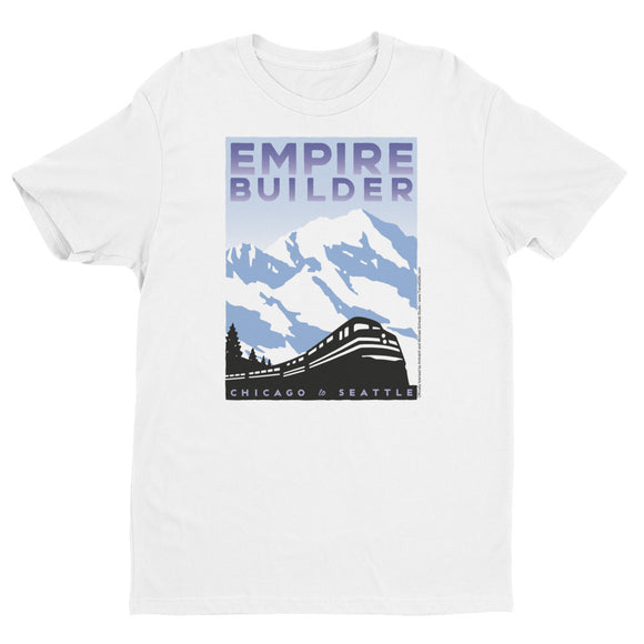 Empire Builder (Chicago to Seattle) T-shirt