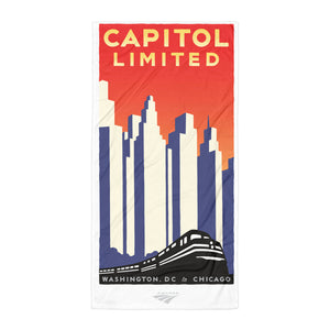Capitol Limited (Washington DC to Chicago) Towel