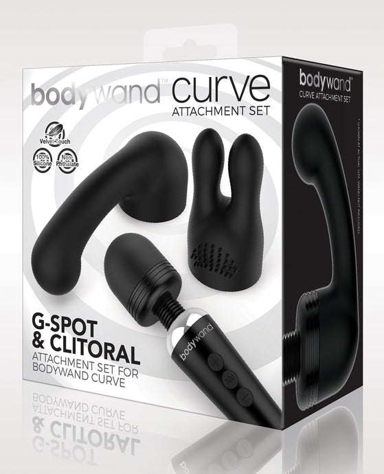Xgen Bodywand Curve Accessory - Black