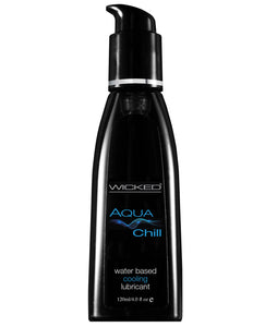 Wicked Sensual Care Chill Cooling Waterbased Lubricant - 4 Oz