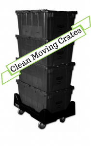 Medium Business Package (5-10 Employees) - Reusable Plastic Moving Crates, Reusable Plastic Moving Crates, Reusable Plastic Moving Crates, houston plastic moving crates, plastic moving crates, reusable moving crates, plastic moving boxes, clean moving crates, moving supplies, moving boxes, office moves, houston office moves, plastic stackable crates