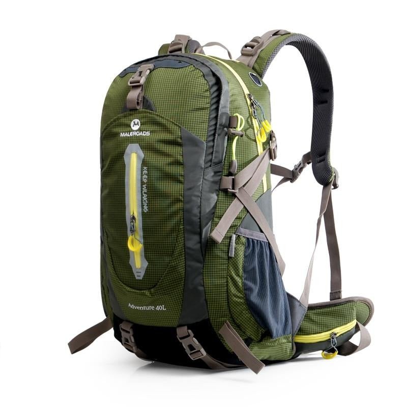 MALEROADS Rucksack Camping Hiking Backpack Sports Bag Outdoor Travel Backpack