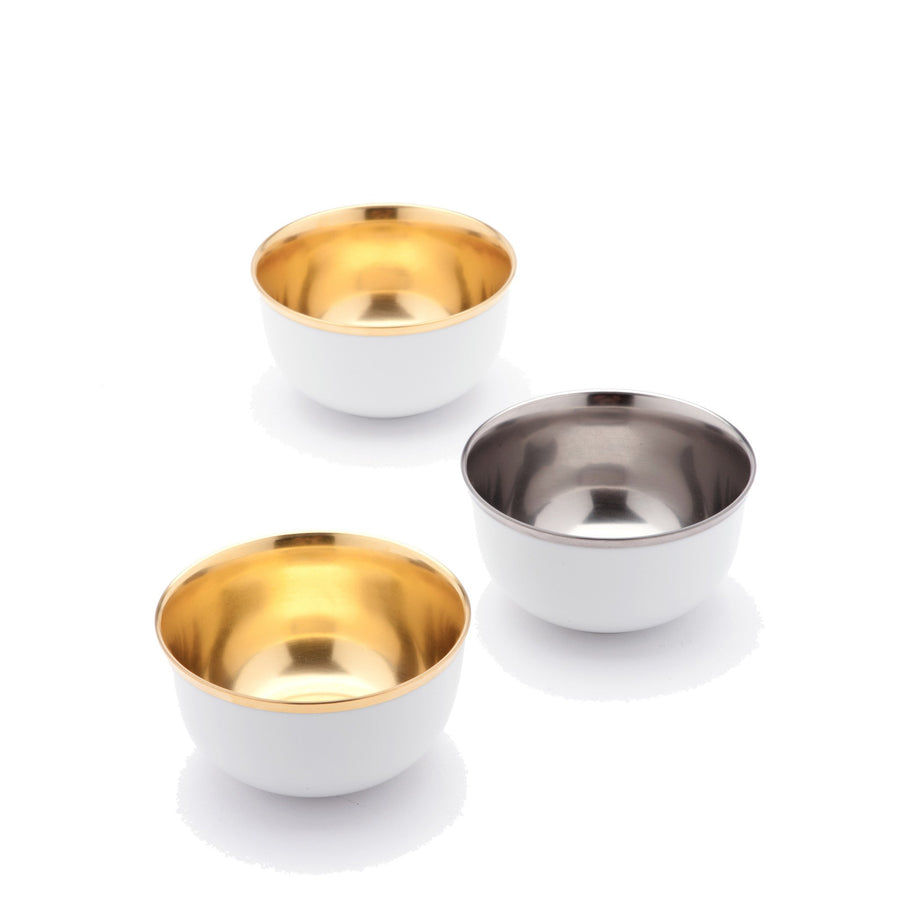 Champagne Bowls Gold