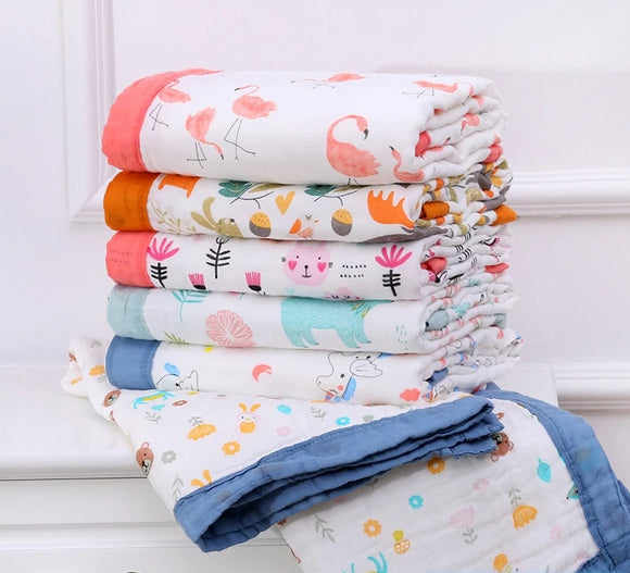 Super Soft Cotton Swaddle Blanket
