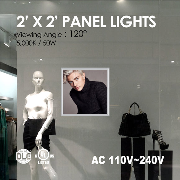 LED PANEL LIGHT 2 x 2FT 36Watt 4000K/5000K w/ Print
