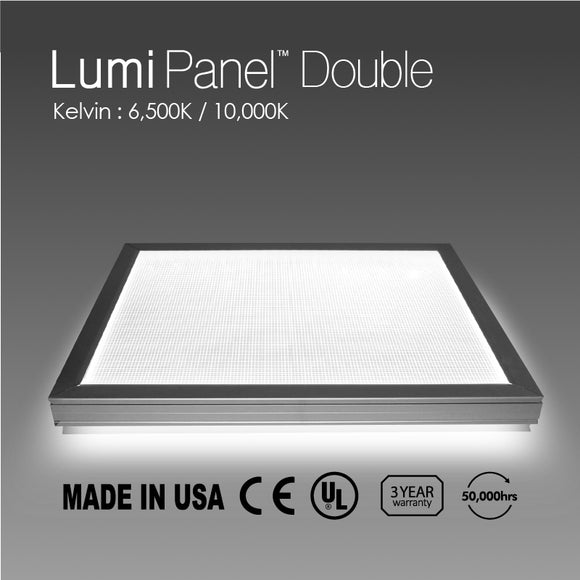 LED Light Lumi Panel Double side T=2