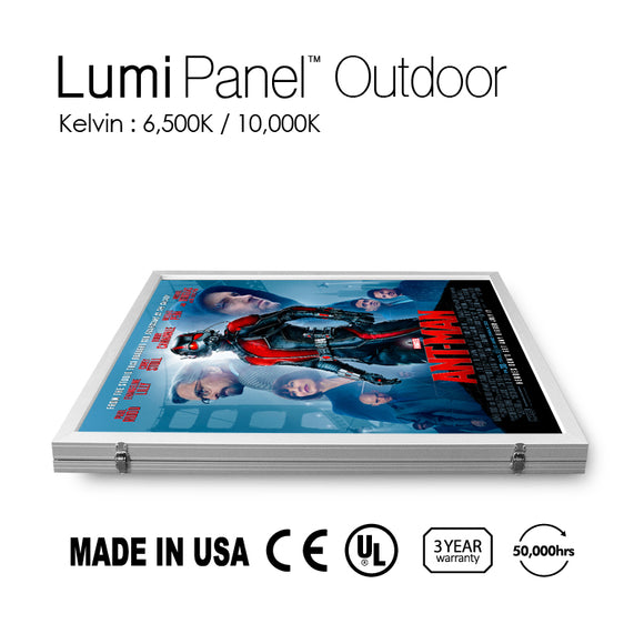 LED Light Lumi Panel Outdoor T=1 9/16