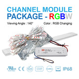 LED Channel Module Package 50ft [RGB Color]