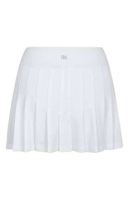 "Jillian Skort - White - 13.5"" Length"